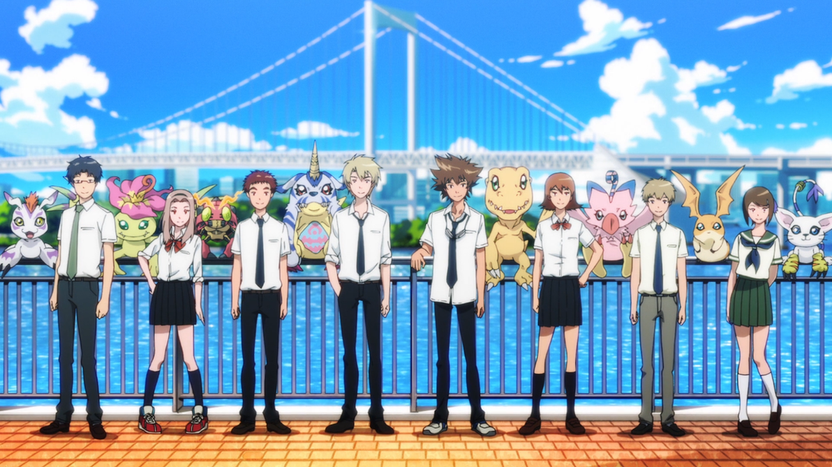 Image result for digimon adventure tri