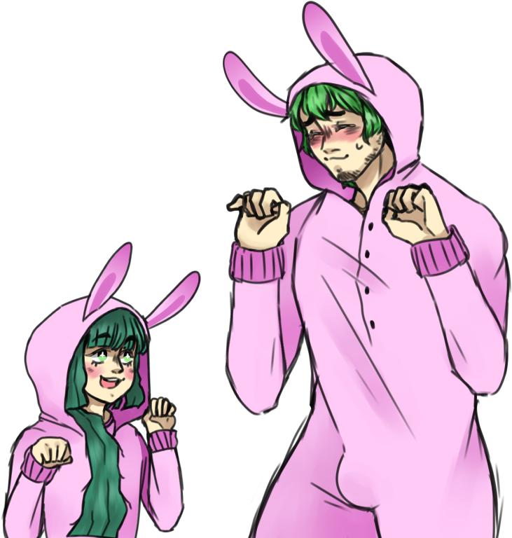 Bunny Buds by ManaBirdy