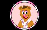 Muppet Button #3: Fozzie Bear by IDontLikeCoffee22