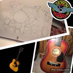Guitar Design!! by IDontLikeCoffee22