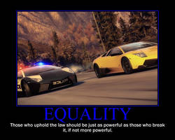 Equality Motivational Poster by QuantumInnovator