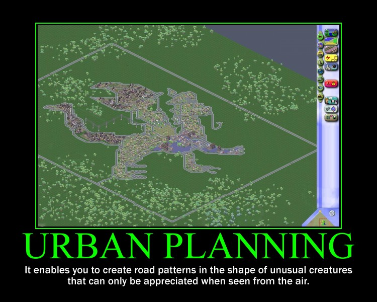 SimCity Motivational Poster 2 by QuantumInnovator