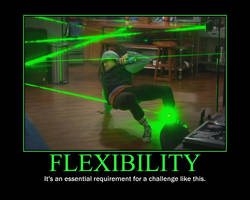 Flexibility Motivational Poster by QuantumInnovator