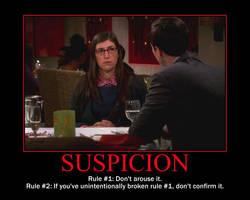 Suspicion Motivational Poster by QuantumInnovator