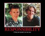 Responsibility Motivational Poster