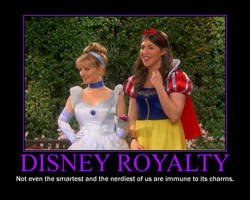 Disney Royalty Motivational Poster by QuantumInnovator
