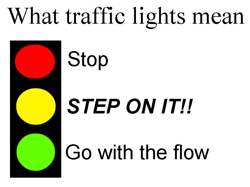 What traffic lights mean by quantuminnovator on deviantart for What does mean lit