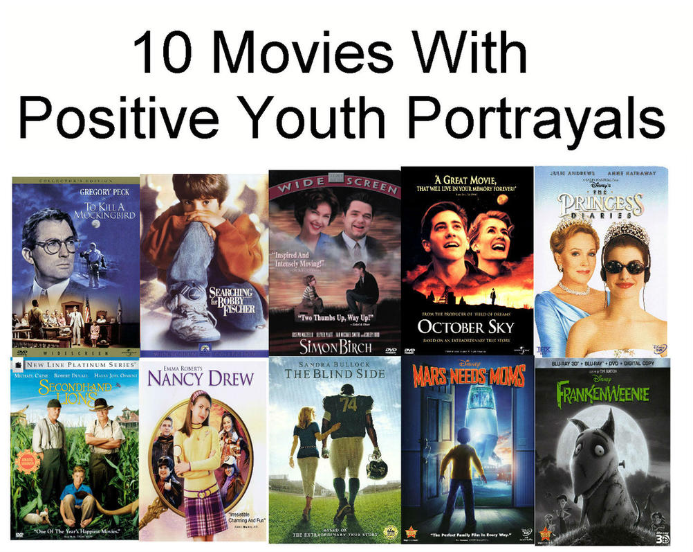 10 movies with positive youth portrayals by