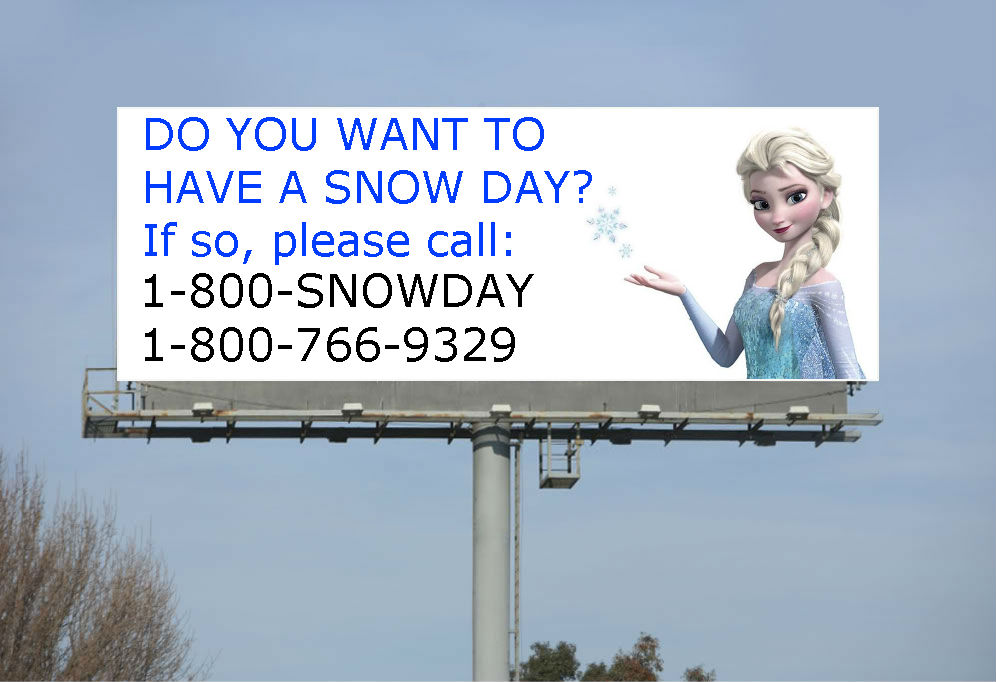 Queen Elsa's Billboard by QuantumInnovator