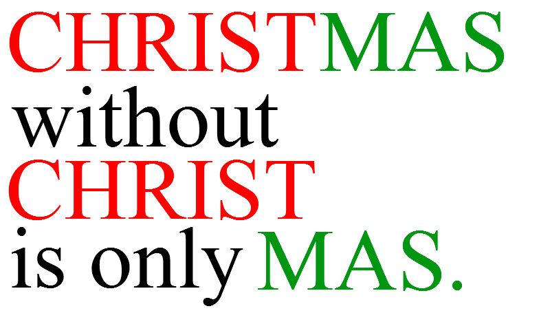Christmas and Christ by QuantumInnovator