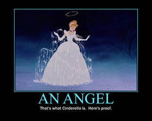 Cinderella is an angel by QuantumInnovator