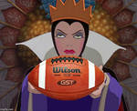 The Evil Queen With A Football by QuantumInnovator