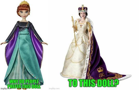 Queen Anna versus Queen Elizabeth