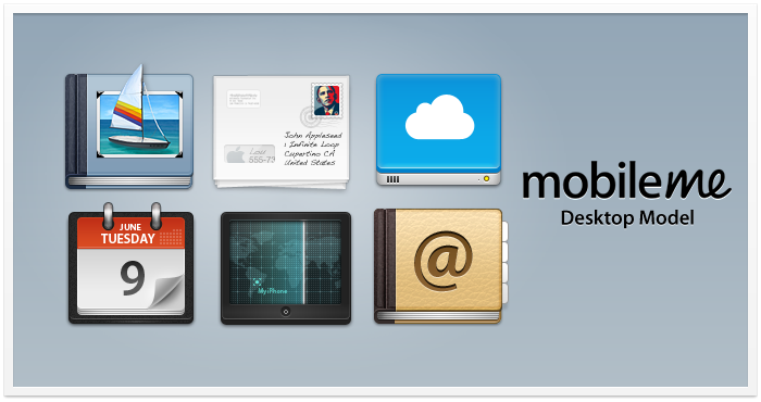 Mobile Me Icons