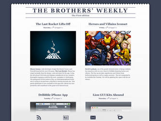 The Brothers' Weekly by PraX-08