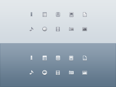 Drops Monochrome Icons by PraX-08