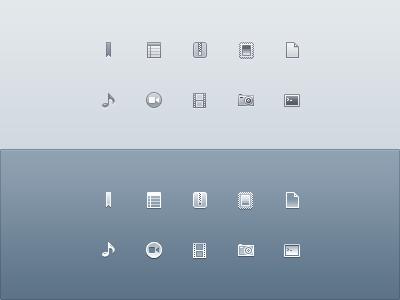Drops Monochrome Icons by PraX-08