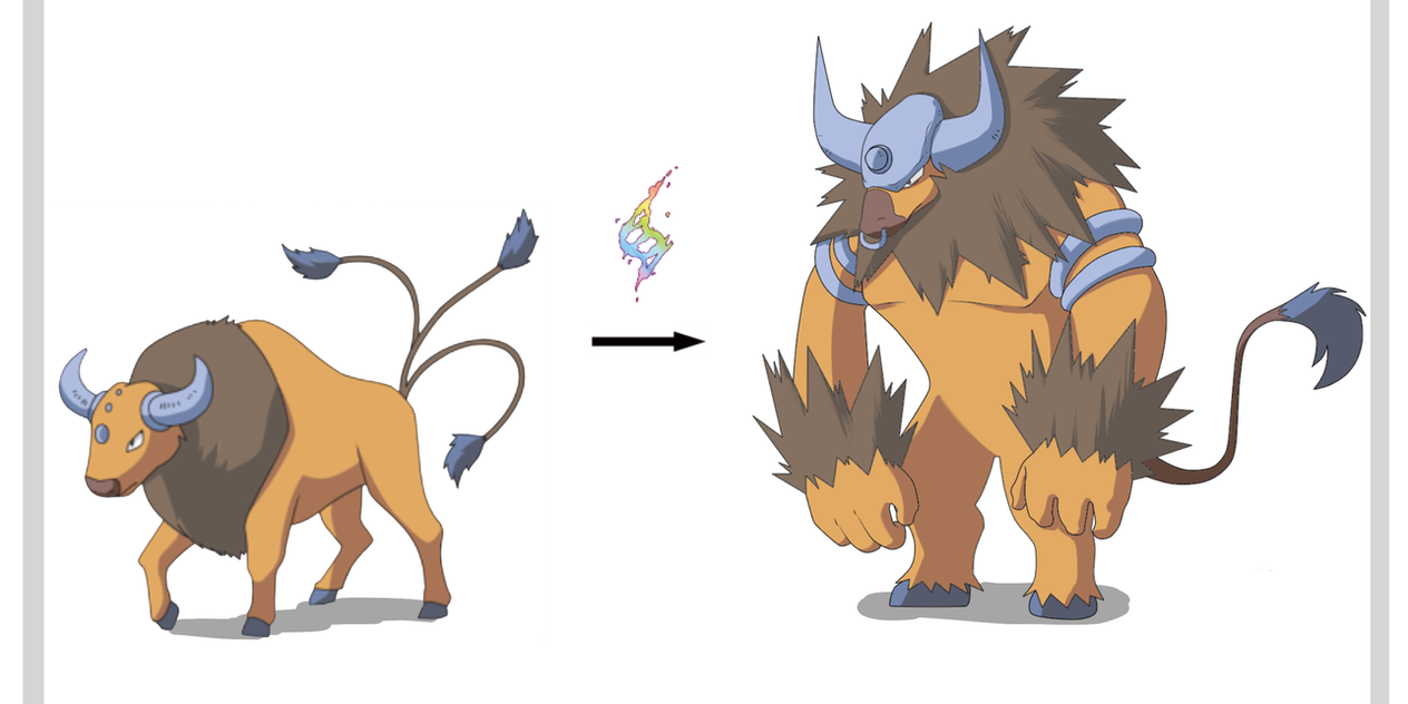 Mega Tauros Anyone? by MasaBear on DeviantArt
