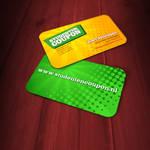 Studenten Coupon business card
