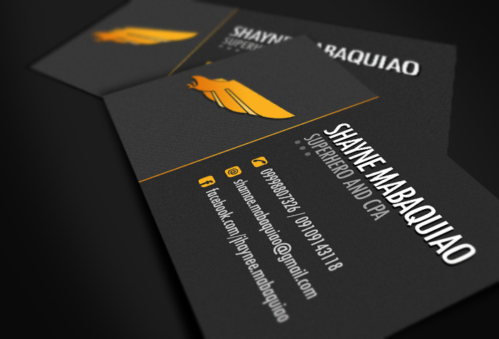 Dark themed business card by jovargaylan on deviantart dark themed business card by jovargaylan colourmoves