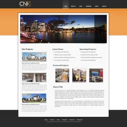 CNK Site Redesign Mockup #1 by jovargaylan