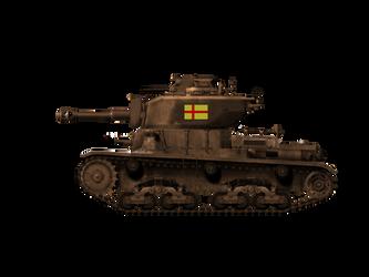 'Philip' Medium Tank-25 by cores1097