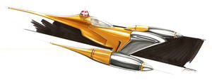 Naboo Starfighter - Star Wars