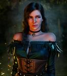 Raven-Haired Lady of Vengerberg