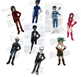 Costumes MHA (fanfic content)