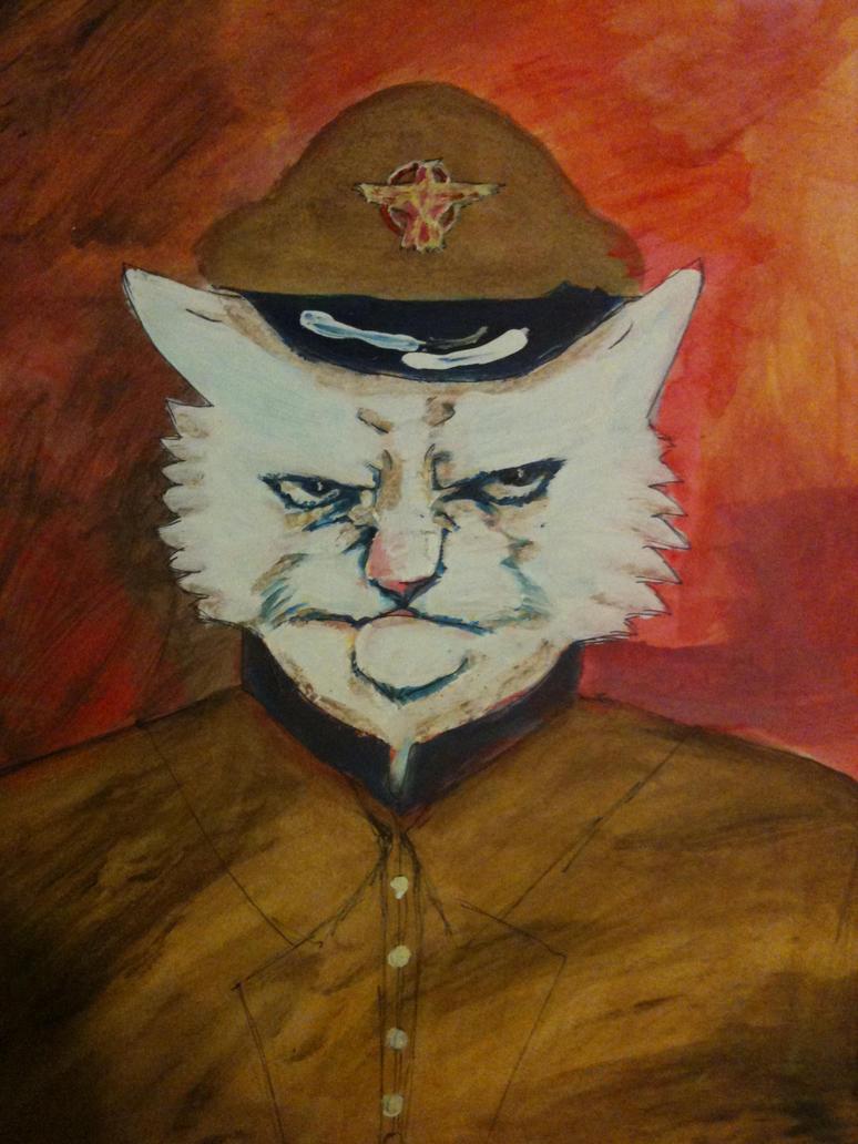 General Cat by Kyoushiro15