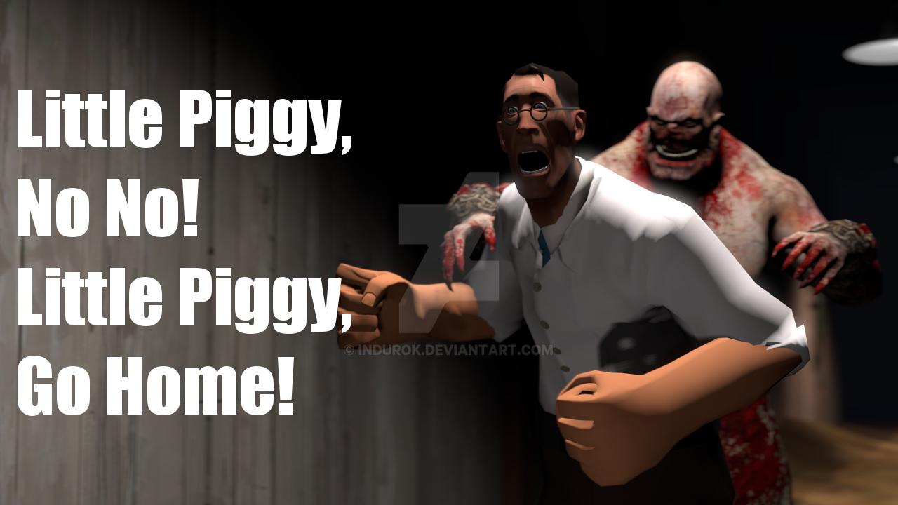 Little Piggy  No No  by IndurokLittle Piggy Outlast