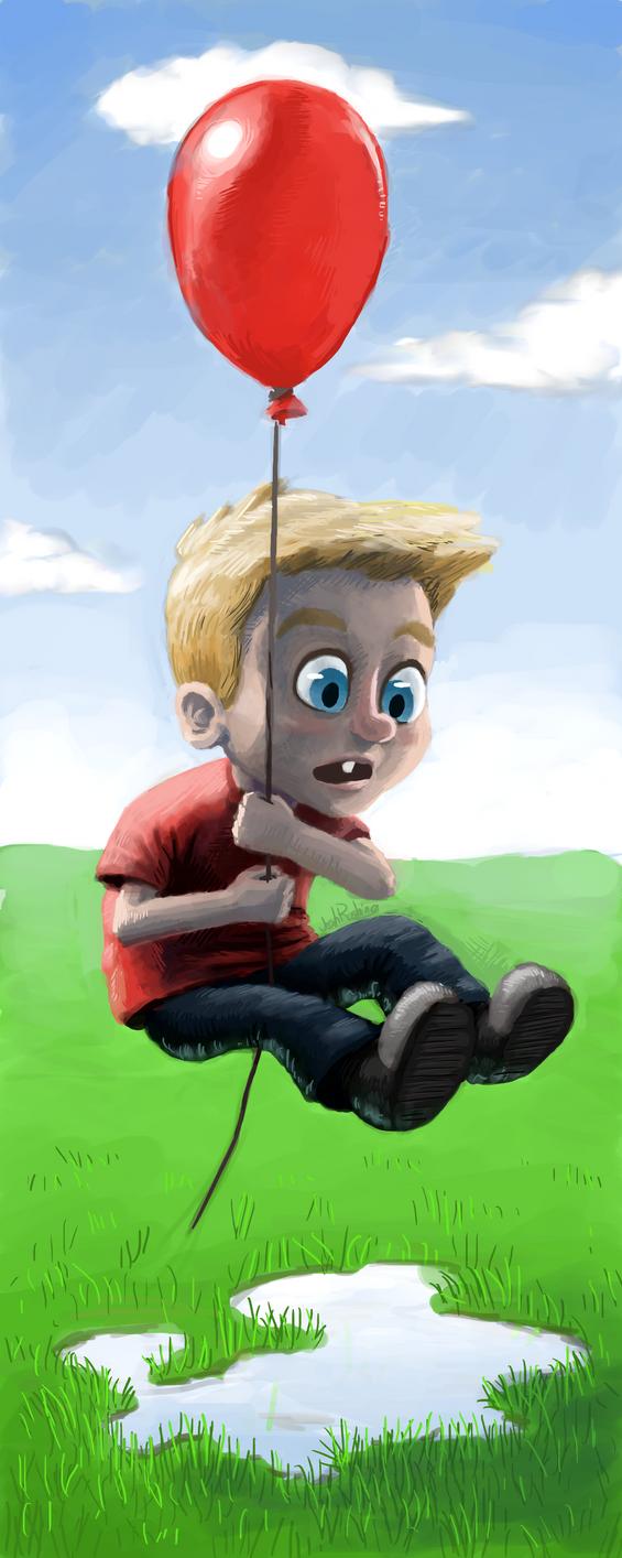 Balloon Flight by TheGhost2