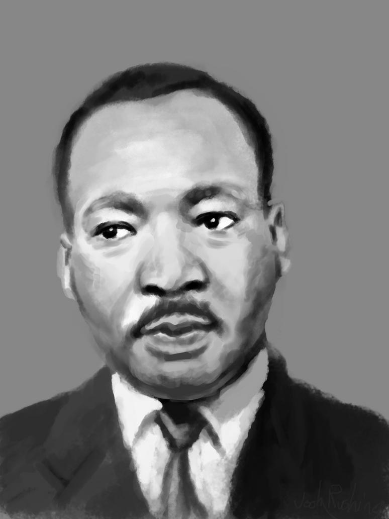 MLK sketch by TheGhost2