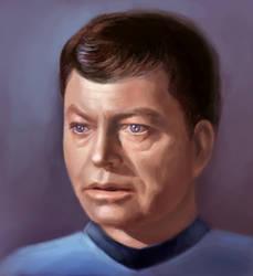 Leonard Bones McCoy by otto-morto