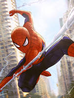 the amazing spider-man by KhallidJoseph