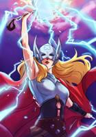 Thor by KhallidJoseph