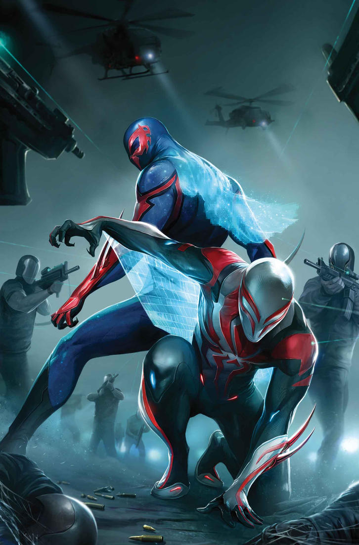 Spider-man-2099-24-cover-by-francesco-mattina by EpicLinkSam