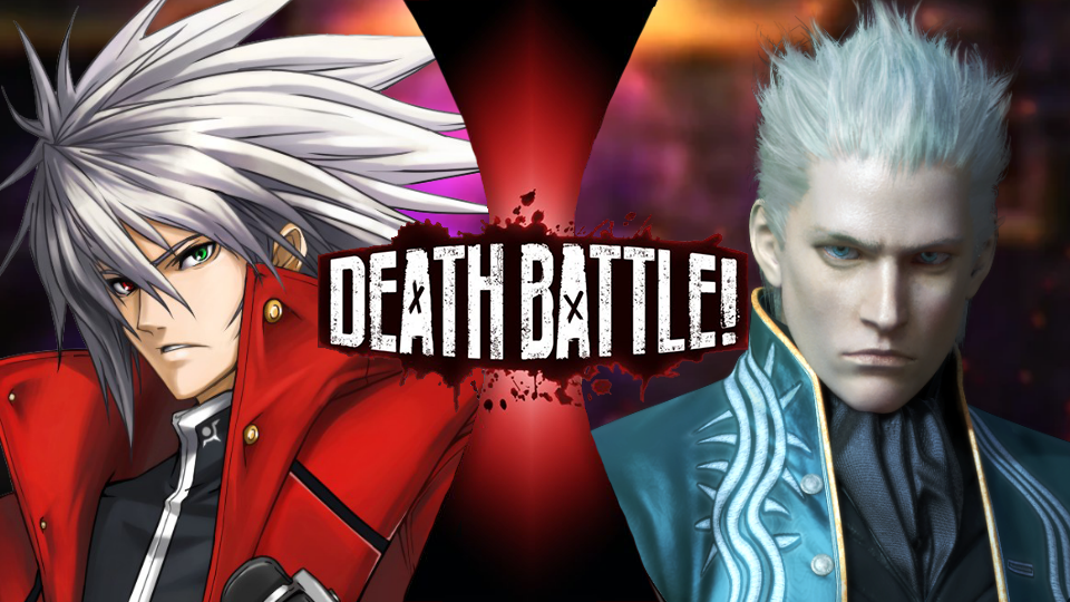 Ragna vs Vergil by EpicLinkSam