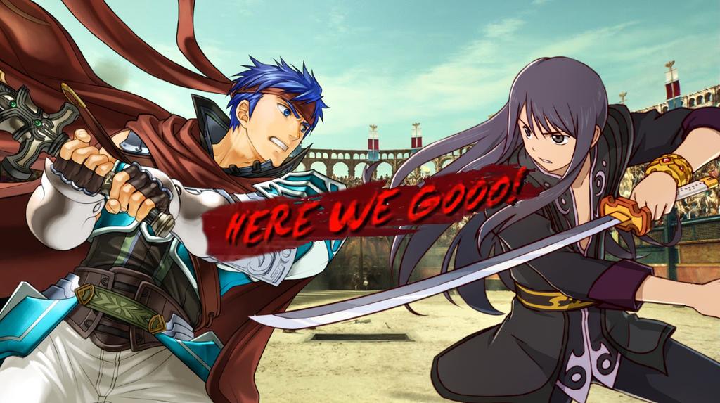 Here we go Ike vs Yuri by EpicLinkSam