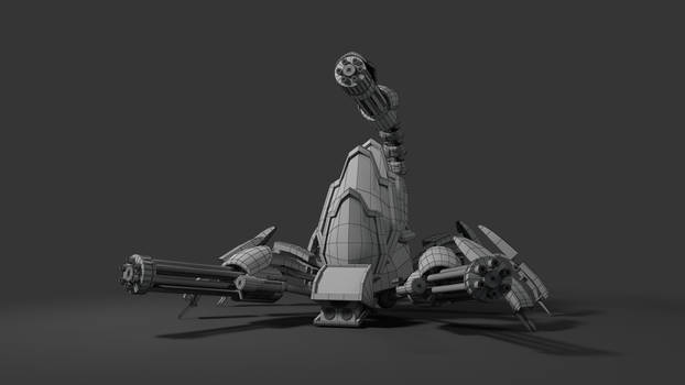 Scorpion Bot (Wireframe)
