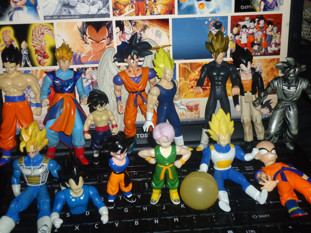 Dragon Ball Z Toys : Dragon ball z action figures by firemaidennexus on deviantart