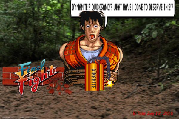 Quicksand/Dynamite Danger! by FireMaidenNexus