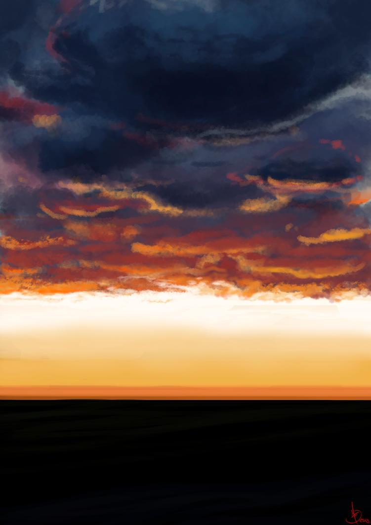 Sunset by Viejuno