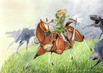 Legend of Zelda by Acualina