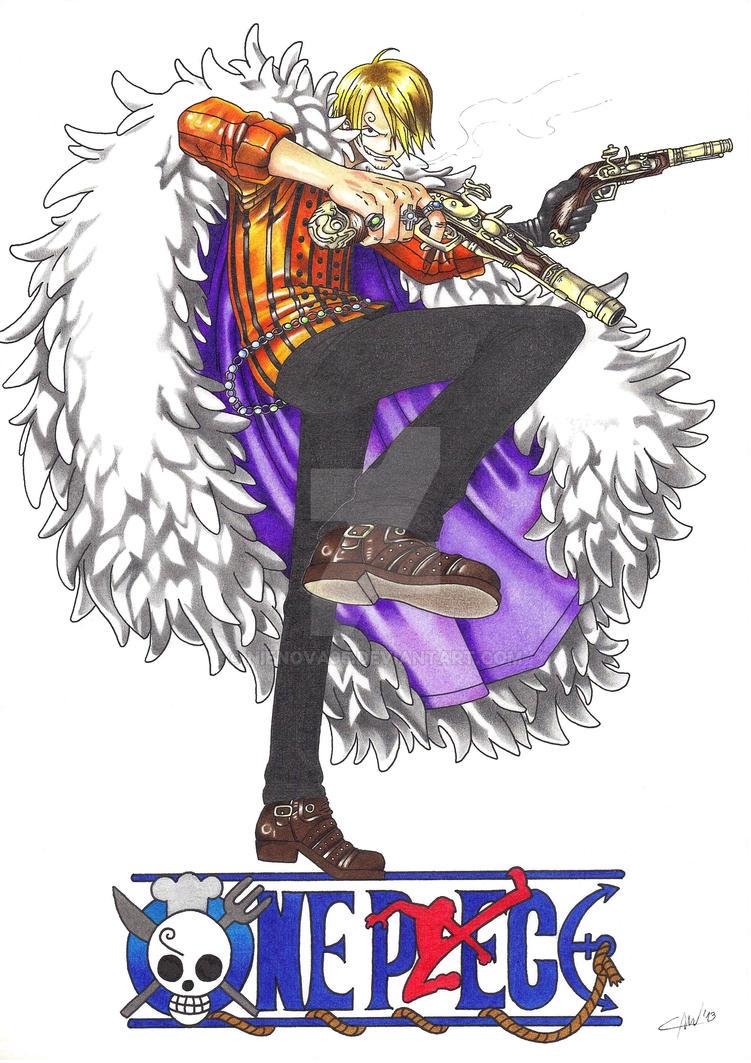 One Piece Sanji by Nienova95