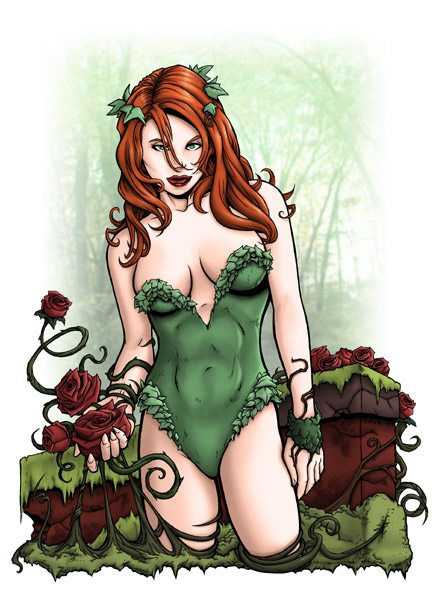 Poison Ivy Pinup by TPollockJR