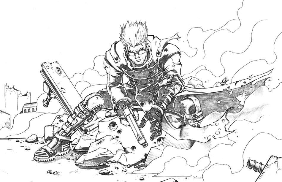 trigun coloring pages | Trigun Coloring Pages Of Coloring Pages