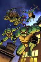Teenage Mutant Ninja Turtles by TPollockJR