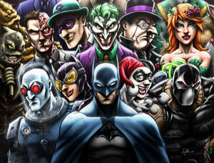 Batman Rogues Gallery