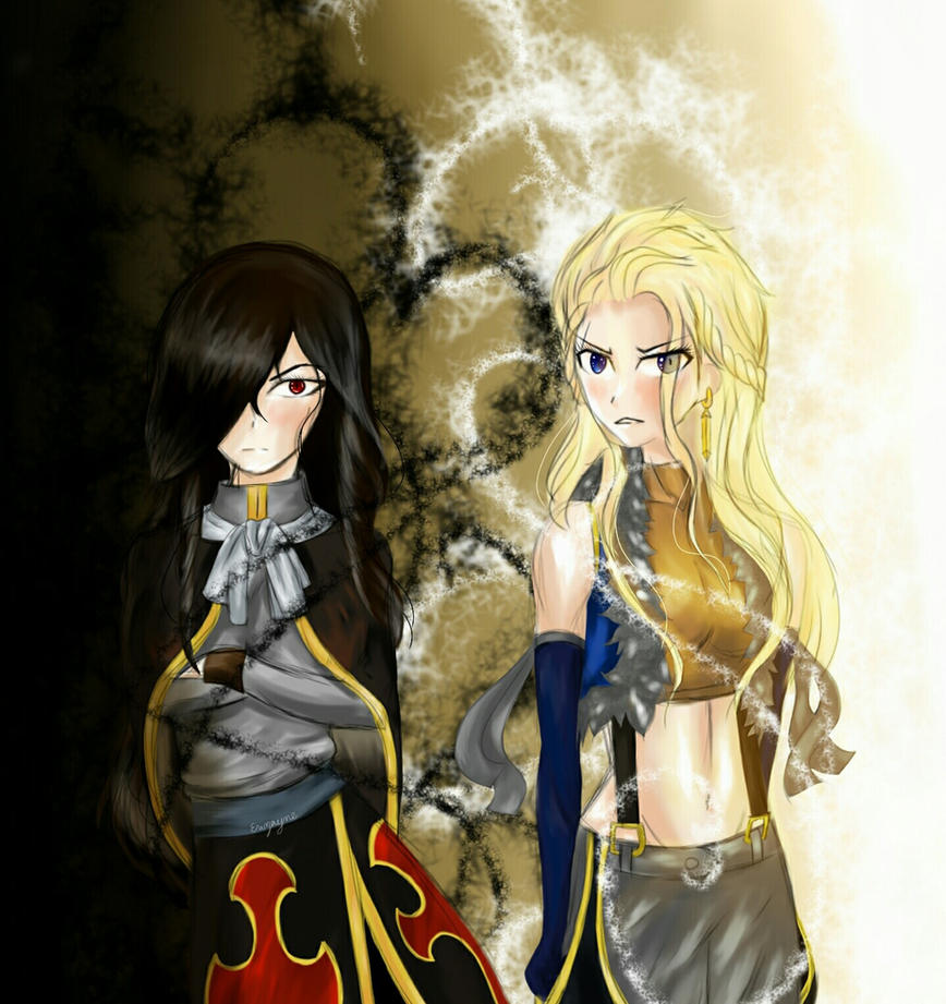 Fairy Tail: Sting And Rogue Genderbend By Eruzayne On